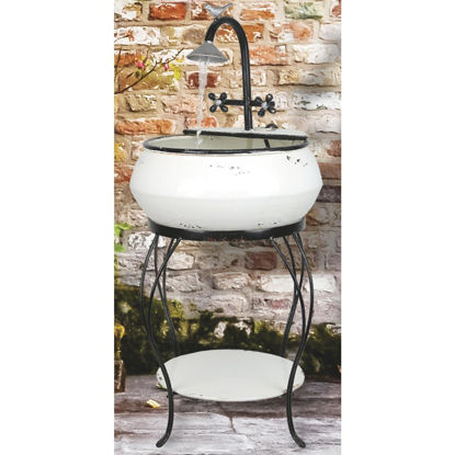 Picture of Alpine 16 In. W. x 32 In. H. x 16 In. L. Iron Vintage Sink Fountain