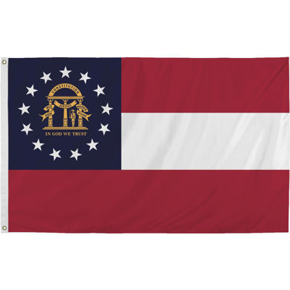 Picture of Valley Forge 3 Ft. x 5 Ft. Nylon Georgia State Flag