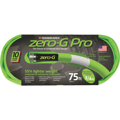 Picture of Apex Zero-G Pro 3/4 In. Dia. x 75 Ft. L. Drinking Water Safe Garden Hose