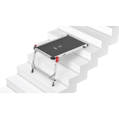 Picture of Hailo 330 Lb. Capacity Aluminum Frame Stair Work Platform