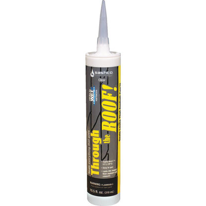 Picture of Through The Roof! 10.5 Oz. Cartridge VOC Cement & Patching Sealant