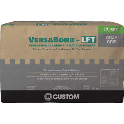 Picture of Custom Building Products VersaBond 50 Lb. Gray Large Format Tile Mortar