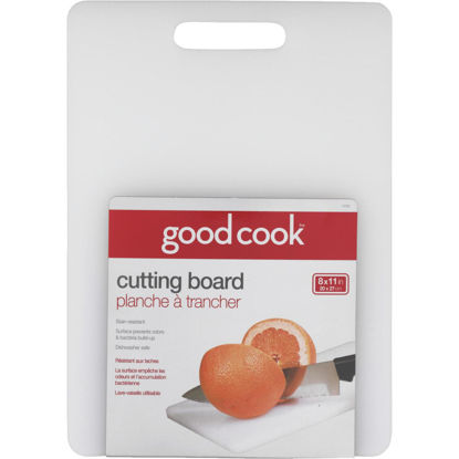 Picture of Goodcook 8 In. x 11 In. White Cutting Board