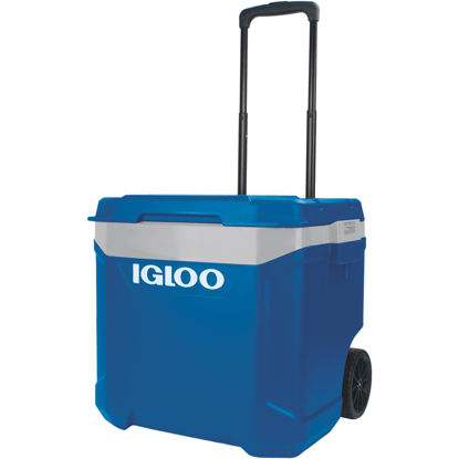 Picture of Igloo Latitude 60 Qt. 2-Wheeled Cooler, Sapphire Blue