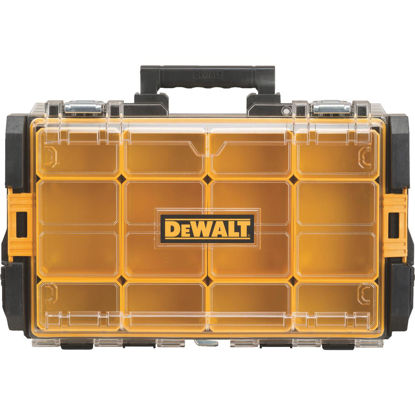 Picture of DeWalt ToughSystem 13.125 In. W x 4.50 In. H x 21.75 In. L Small Parts Organizer with 12 Bins