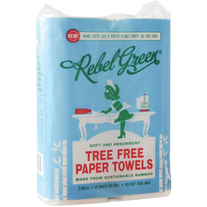 Picture of Rebel Green Tree Free Paper Towel (2 Roll)