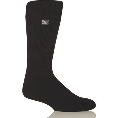 Picture of Heat Holders Men's 7 to 12 Black Thermal Sock