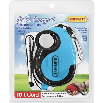 Picture of Westminster Pet Ruffin' it Palm Comfort Up to 30 Lb. 10 Ft. Cord Retractable Leash