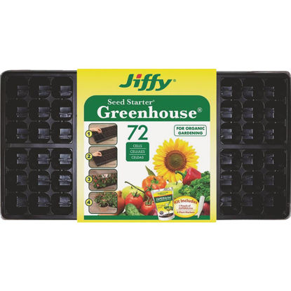 Picture of Jiffy 72-Cell Seed Starter Kit with Superthrive