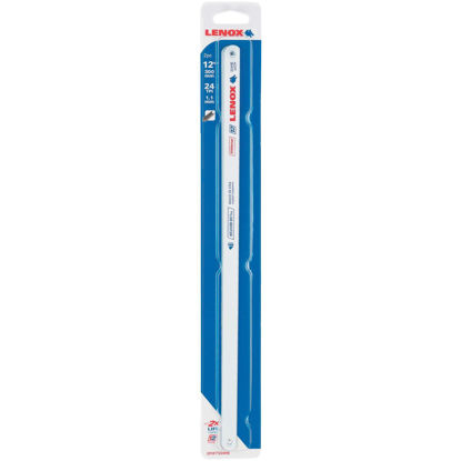 Picture of Lenox T2 12 In. x 24 TPI Bi-Metal Hacksaw Blade, Medium Metal (2-Pack)