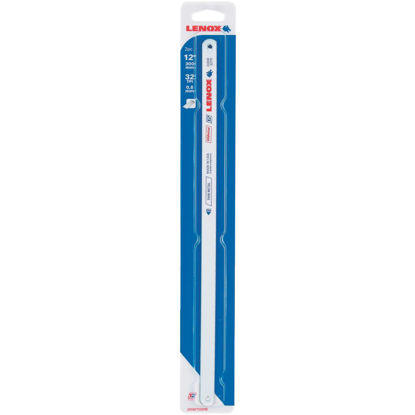 Picture of Lenox T2 12 In. x 32 TPI Bi-Metal Hacksaw Blade, Thin Metal (2-Pack)