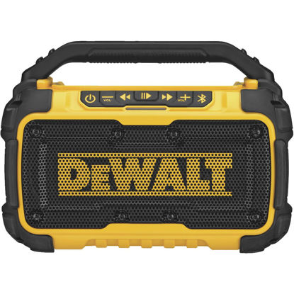 Picture of DeWalt 12 Volt/20 Volt MAX Lithium-Ion Jobsite Corded/Cordless Bluetooth Speaker (Bare Tool)