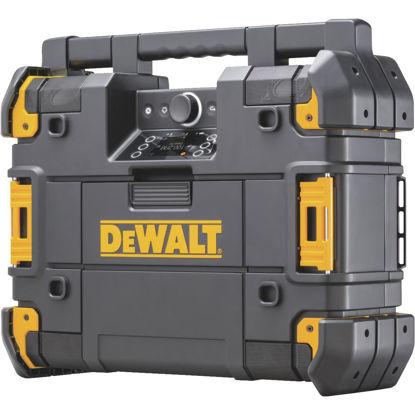 Picture of DeWalt TSTAK 12/20 Volt MAX and 20/60 Volt FLEXVOLT Lithium-Ion Bluetooth Cordless Jobsite Radio/Charger