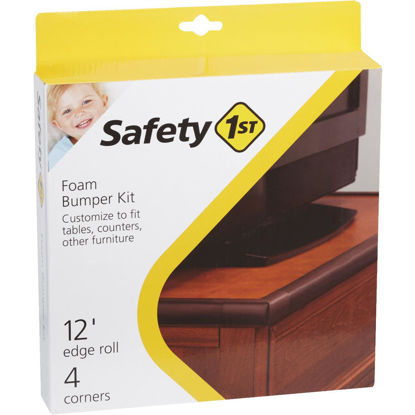 Picture of Safety 1st Adhesive Foam Brown Edge Roll and Corners Bumper Kit