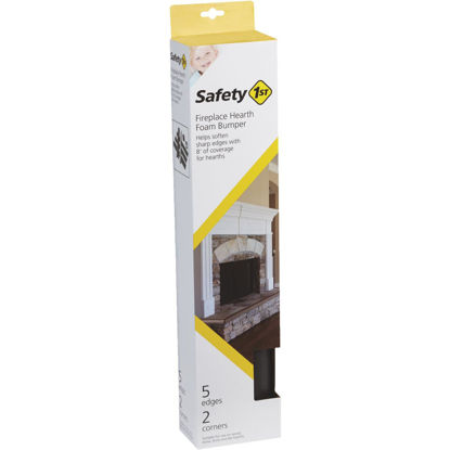 Picture of Safety 1st Adhesive Foam Brown Fireplace Guard Foam Bumper