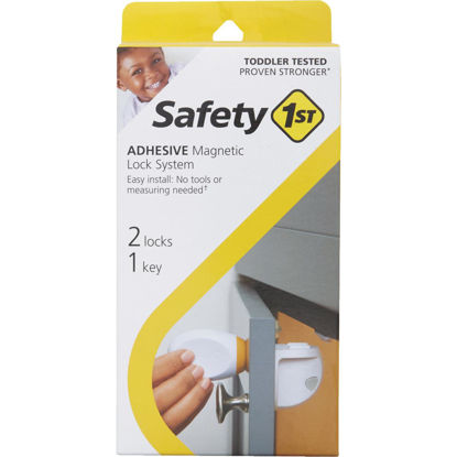 Picture of Safety 1st Adhesive Magnetic Lock System (2-Lock Set)