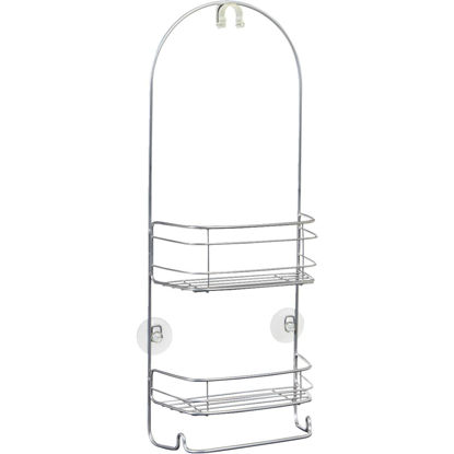Picture of iDesign Rondo 2-Shelf Silver Shower Caddy