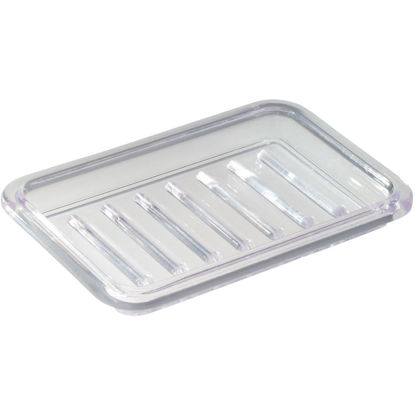 Picture of iDesign Royal Rectangular Textured Soap Dish