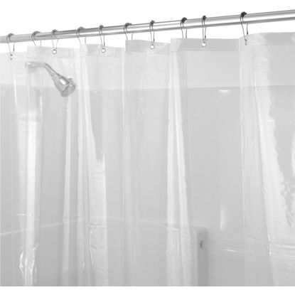 Picture of iDesign 72 In. x 72 In. Clear EVA Shower Curtain Liner