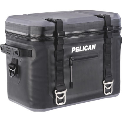 Picture of Pelican Elite Black Soft-Side Cooler (24-Can)