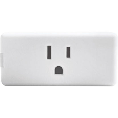 Picture of Leviton Decora Smart 1-Outlet White Wi-Fi Plug-In Outlet