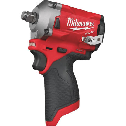 Picture of Milwaukee M12 FUEL 12 Volt Lithium-Ion Brushless 1/2 In. Stubby Cordless Impact Wrench (Bare Tool)