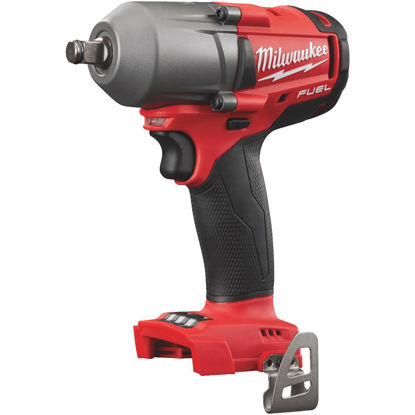 Picture of Milwaukee M18 FUEL 18 Volt Lithium-Ion Brushless 1/2 In. Mid-Torque Cordless Impact Wrench with Friction Ring (Bare Tool)