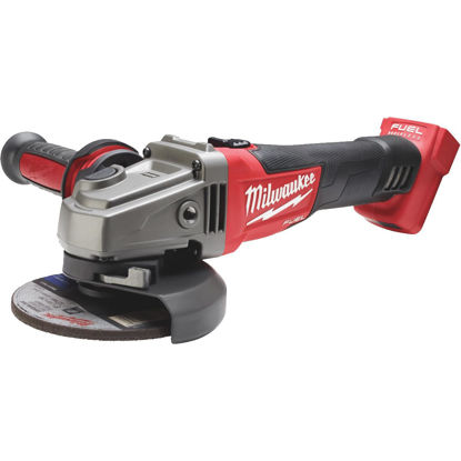 Picture of Milwaukee M18 FUEL 18 Volt Lithium-Ion Brushless 4-1/2 In. - 5 in. Cordless Angle Grinder, Slide Switch Lock-On (Bare Tool)