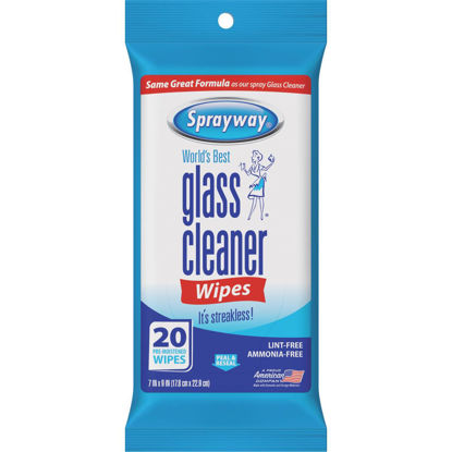 Picture of Sprayway Glass & Surface Cleaner Wipe (20-Count)