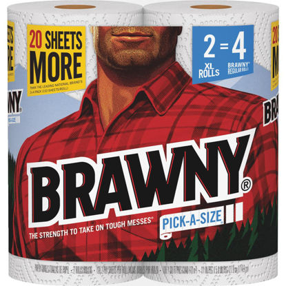 Picture of Brawny XL Pick-A-Size Paper Towel (2 Roll)
