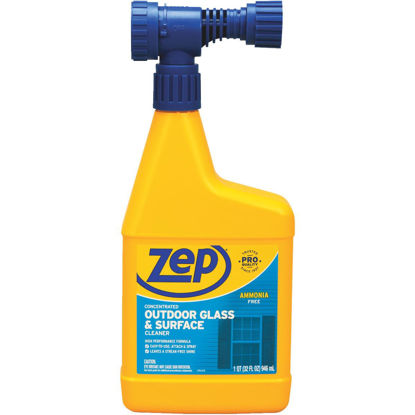 Picture of Zep 1 Qt. Hose-End Outdoor Glass & Surface Concentrate Cleaner