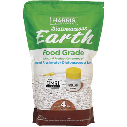 Picture of Harris 4 Lb. Ready To Use Powder Food Grade Diatomaceous Earth