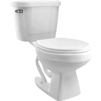 Picture of Cato Jazmin White Elongated Bowl 1.28 GPF Complete Toilet