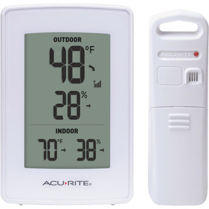 Picture of Acurite Digital Weather Station With Indoor & Outdoor Temperature & Humidity