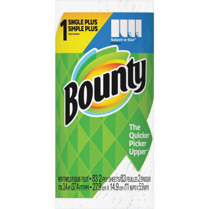 Picture of Bounty Single Plus Select-A-Size Paper Towel (1-Roll)