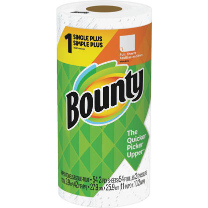 Picture of Bounty Single Plus Full Sheet Paper Towel (1-Roll)