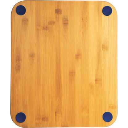 Picture of Core Natural Bamboo Sapphire 13.5 In. Foot Grip Cutting Board