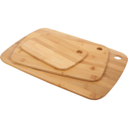 Picture of Core Classic Small/Medium/Large Natural Bamboo Cutting Board (3 Pack)