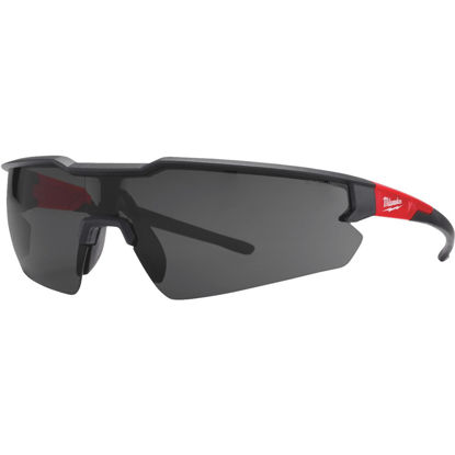 Picture of Milwaukee Red & Black Frame Safety Glasses with Tinted Lenses