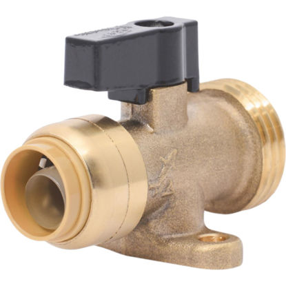 Picture of SharkBite 1/2 in. x 3/4 in. MHT Push-to-Connect Straight Washing Machine Valve